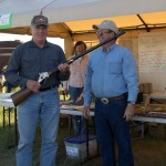 Dean Andvik, Kindred, ND, winner of the Pedersoli Quigley rifle