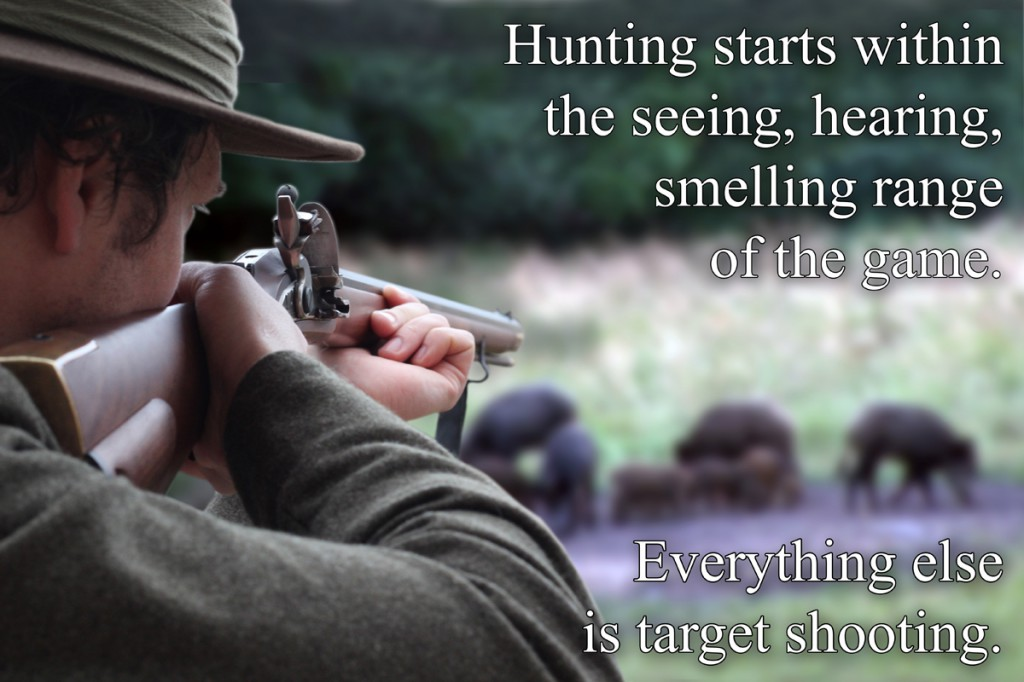 hunting starts copy